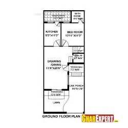 50 Sqm To Sqft house plan for 20 feet by 50 feet plot plot size 111
