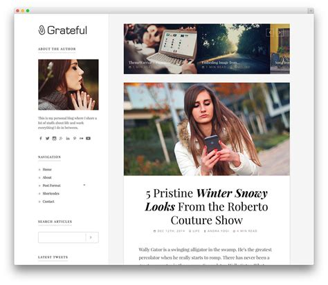 wordpress themes free blog personal 30 best blog wordpress themes for corporate personal