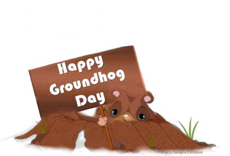 groundhog day anime groundhog day gif find on giphy