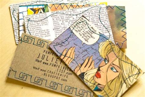 upcycled business 10 images about business cards on