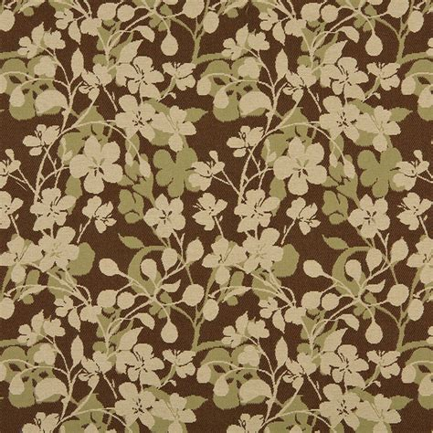 floral upholstery beige brown and light green floral indoor outdoor