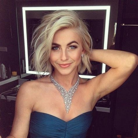 julianne hough thin hair 20 glamorous bob hairstyles for fine hair easy short hair