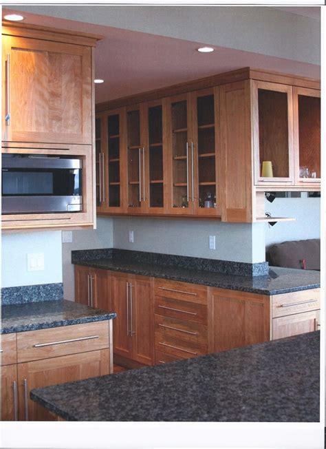 red birch kitchen cabinets custom made contemporary red birch kitchen by jim s