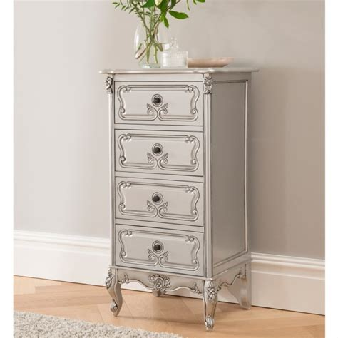 baroque antique french tallboy chest working well