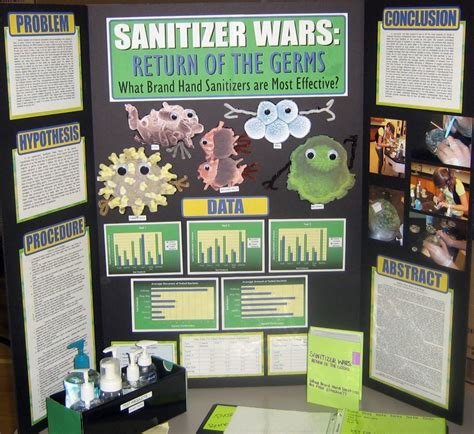 crestsciencefair  commonly  hand sanitizers  preventing spread  bacteria