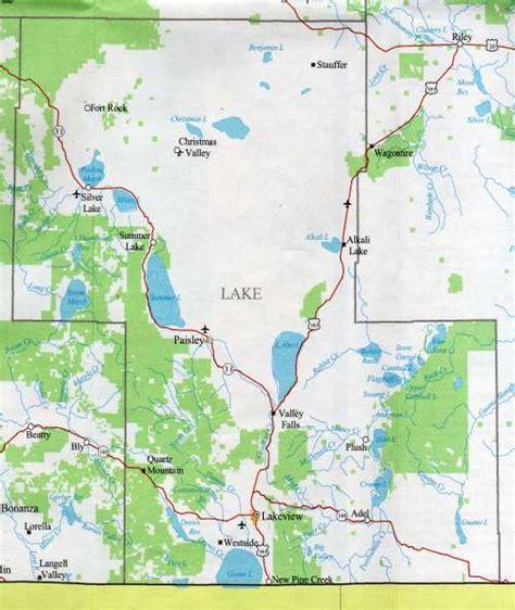 map of oregon lakes lake county map oregon oregon hotels motels