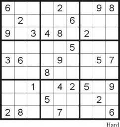 Printable Sudoku Sheets Printable Sudoku Puzzles 6 Coloring Kids