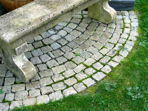 the great thing about cobblestone pavers is that you can
