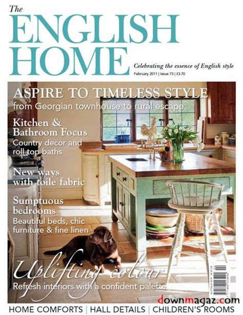 home decorating magazines uk the english home february 2011 uk 187 download pdf