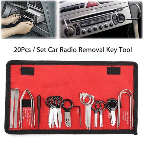 Spesial Sorex Cd Ibu Set 4 Pcs 20pcs car radio removal key tool set kit audio tools stereo cd alex nld