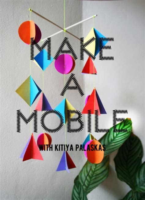 Paper Mobiles To Make - make a mobile from paper runway