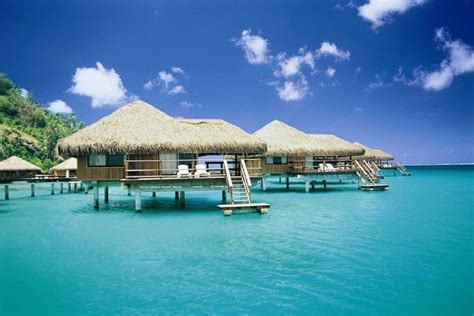 overwater bungalows bali indonesia royal huahine resort tahiti south pacific