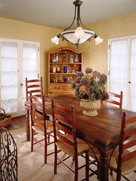 Country Dining Room Table Interior Design Ideas Country Interiordecodir