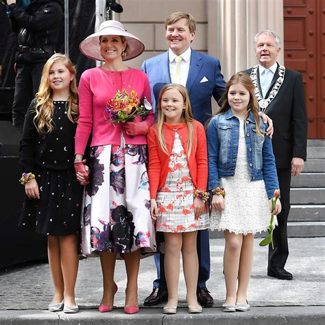 royal family dutch royal family celebrate kingsday 2016 in zwolle