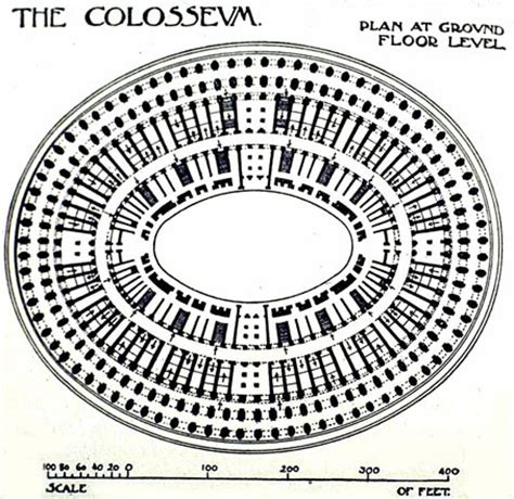 Create Floor Plans For Free colosseum plan at ground level other title colosseum