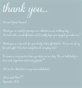 Thank You Letter To Mom For Wedding The Art Of Thank You Thoughts On The Post Wedding