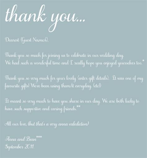 thank you letter after wedding for parents the of thank you thoughts on the post wedding