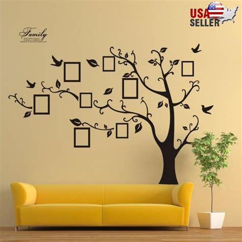 ebay tree wall stickers family tree wall decal sticker large vinyl photo picture