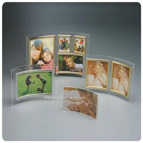 Frame Foto 2r Tegak curved acrylic foto frame china manufacturer acrylic photo frame