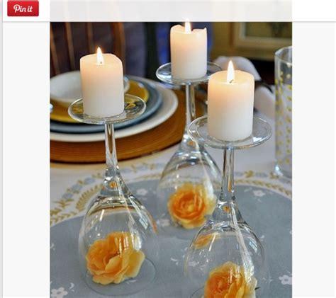 centrotavola con bicchieri centrotavola matrimonio 5 idee alternative al classico
