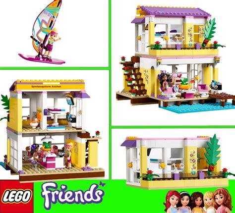 lego friends beach house lego 41037 friends stephanies casa sulla spiaggia beach