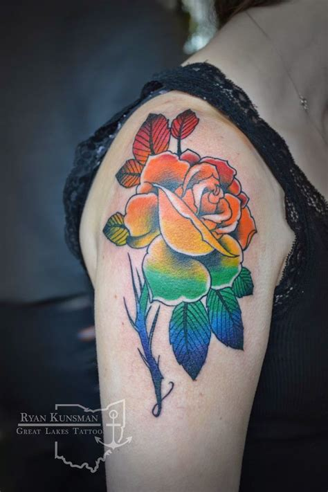 rainbow rose tattoo 1434 best images about reference on