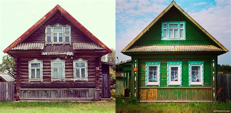 an endangered species traditional wooden houses in russia