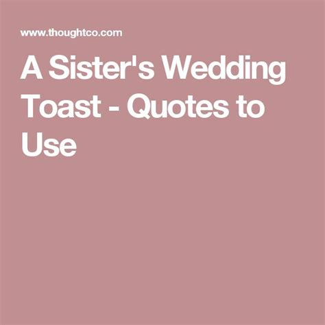 Wedding Quotes For Speech by 25 Best Wedding Toast Quotes On Toast For