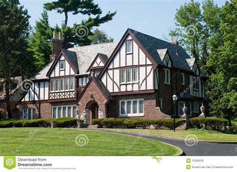 French European House Plans maison anglaise de tudor photo stock image du pignon