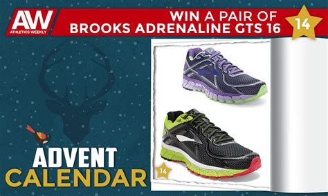 Win A Pair Of by Athletics Weekly Win A Pair Of Adrenaline Gts 16