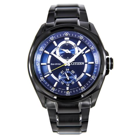 citizen eco drive blue mens sports bu3005 51l