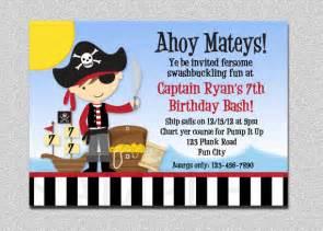 pirate birthday invitation pirate birthday invitation boys pirate birthday