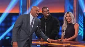 kim and kanye family feud full episode kanye west kim kardashian play celebrity family feud