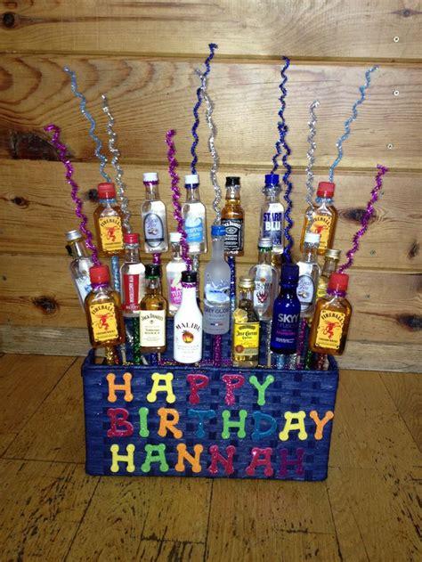diy liquor ideas 25 best ideas about liquor gift baskets on pinterest