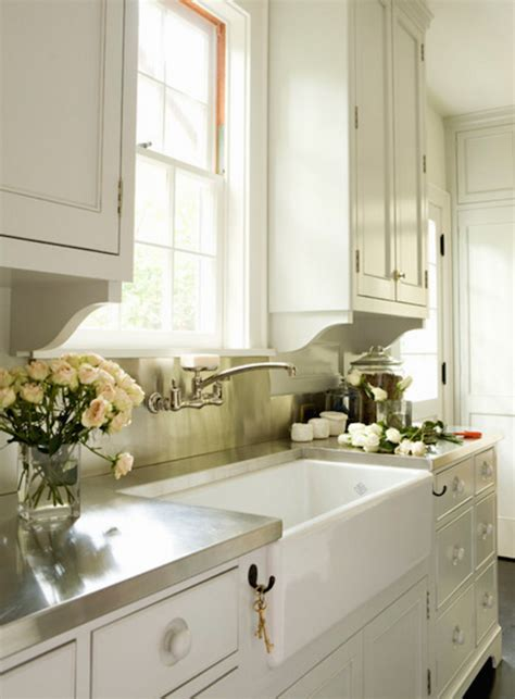 Kitchen Sink Options Apron Front Farmhouse Sink Options And Why I Decided Against Fireclay Elizabeth