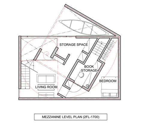 mezzanine floor plan gallery of northern nautilus takato tamagami 24