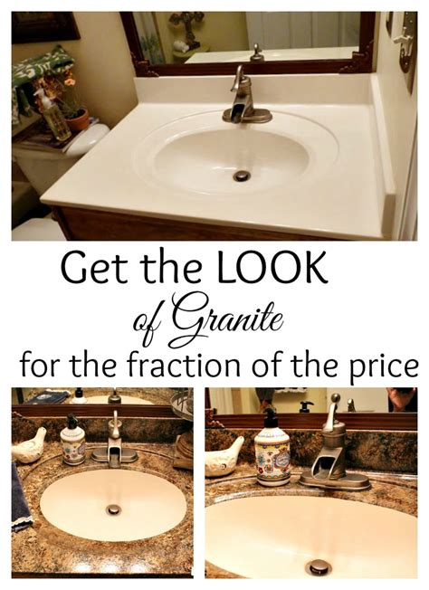 paint bathroom countertops to look like granite how to paint your counter tops to look like granite for a