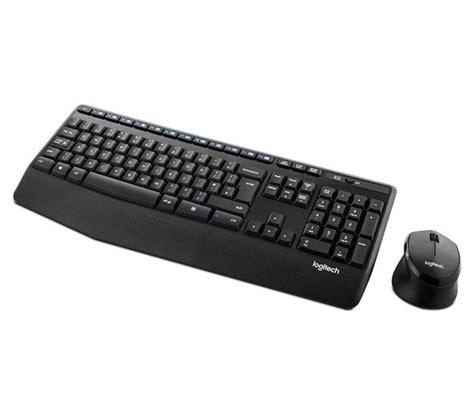 Keyboard Logitech Wireless Mk345 logitech mk345 wireless keyboard mouse set deals pc world