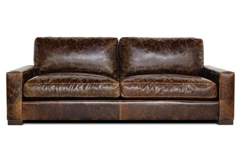 Worn Leather Sofa Alabama House Pinterest Worn Leather Sofa