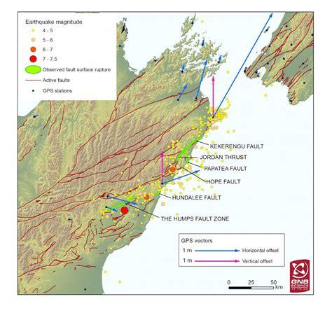 earthquake fault new zealand quake ruptured 6 faults