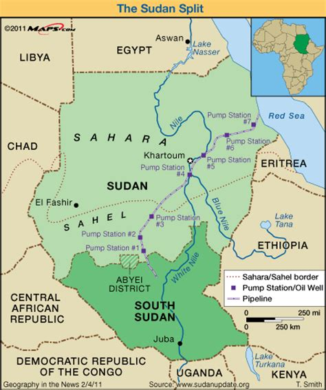 africa map south sudan maps incarto