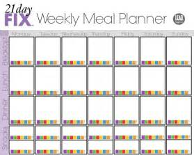 search results for blank weekly meal planner template