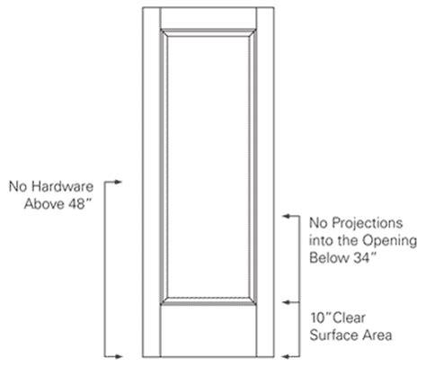 prepossessing 70+ handicap bathroom door regulations