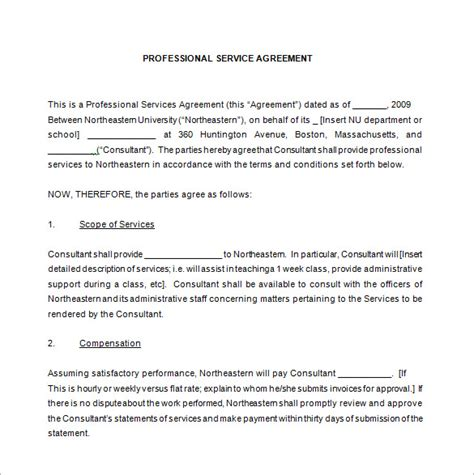 service contract template free service maintenance agreement template 12 maintenance