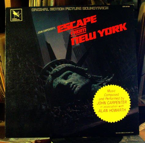Escape From New York Ost Vinyl - popsike escape from new york ost carpenter