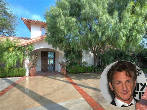Ranch Style House Pictures Sean Penn House In Malibu California