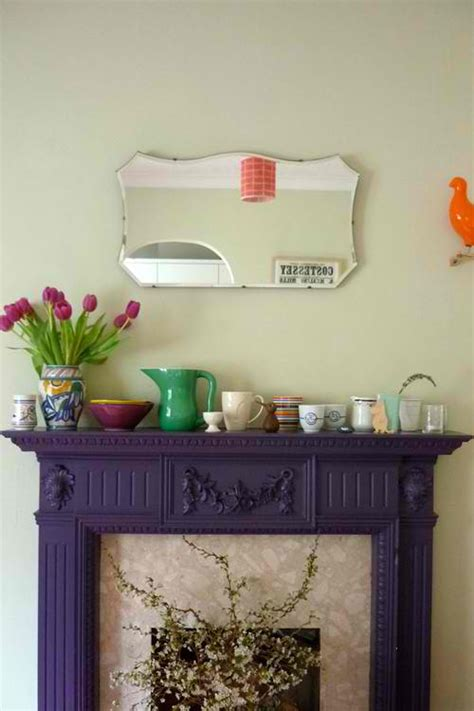 Colored Fireplace Mantels by 20 Fireplace Mantels To Set Your Fireplace On Decoholic