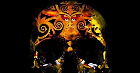 tato kepala dayak gambar tengkorak motif dayak tengkorak kepala manusia