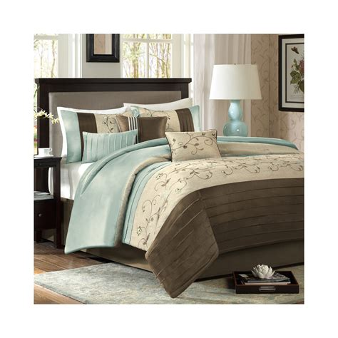 7 pc comforter set cheap madison park grace 7 pc comforter set offer