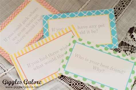 dinner conversation starters cards the table dinner conversation cards